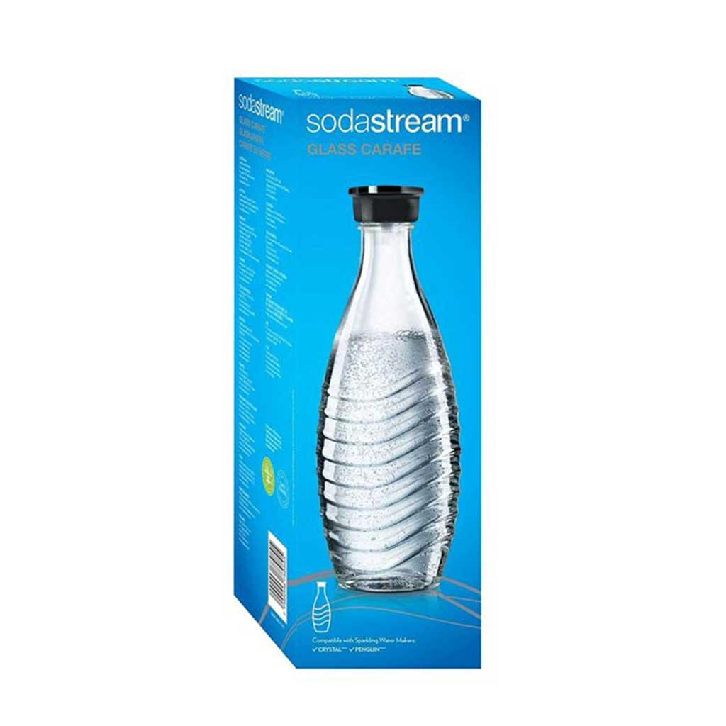 Soda Stream Glass Carafe with Lid