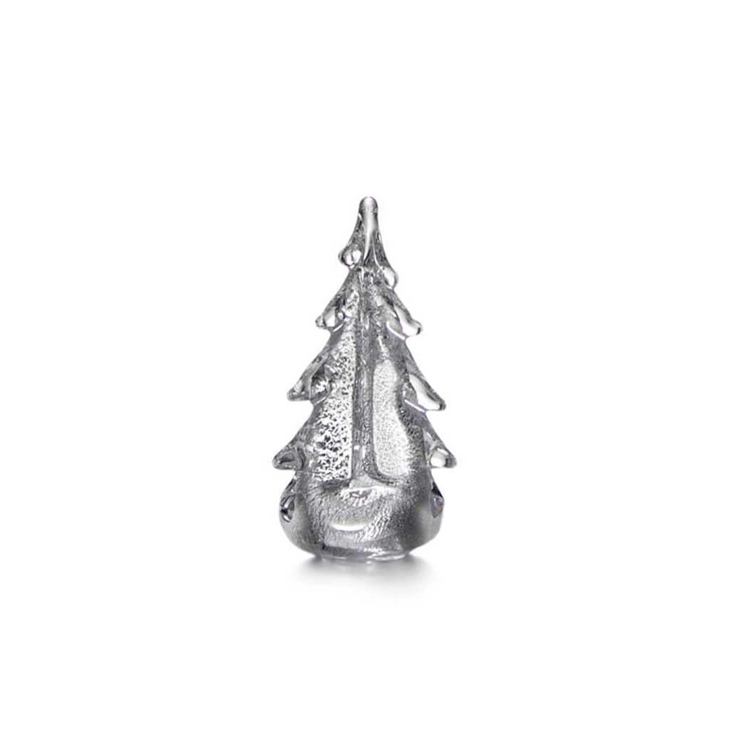 Tree Silver Leaf 6 inch by Simon Pearce