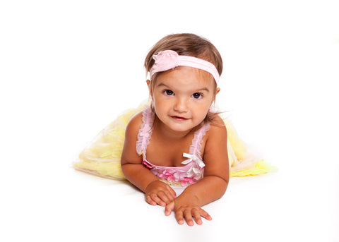 #EllaOnBeauty modeling Mia® Baby headband - designed by #MiaKaminski of #Mia Beauty