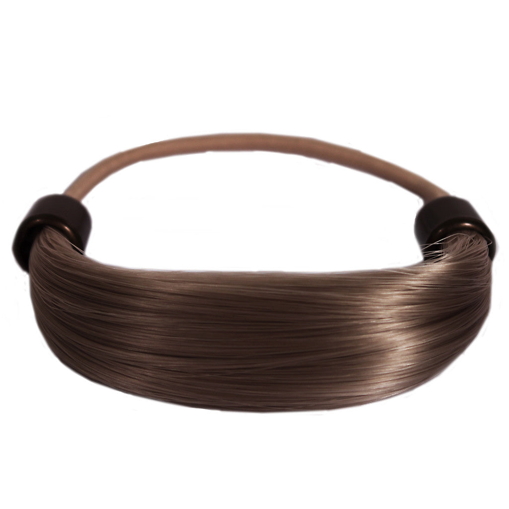 Mia® Tonytail® ponytail wrap- synthetic wig hair - light brown - patented by #MiaKaminski CEO of Mia® Beauty