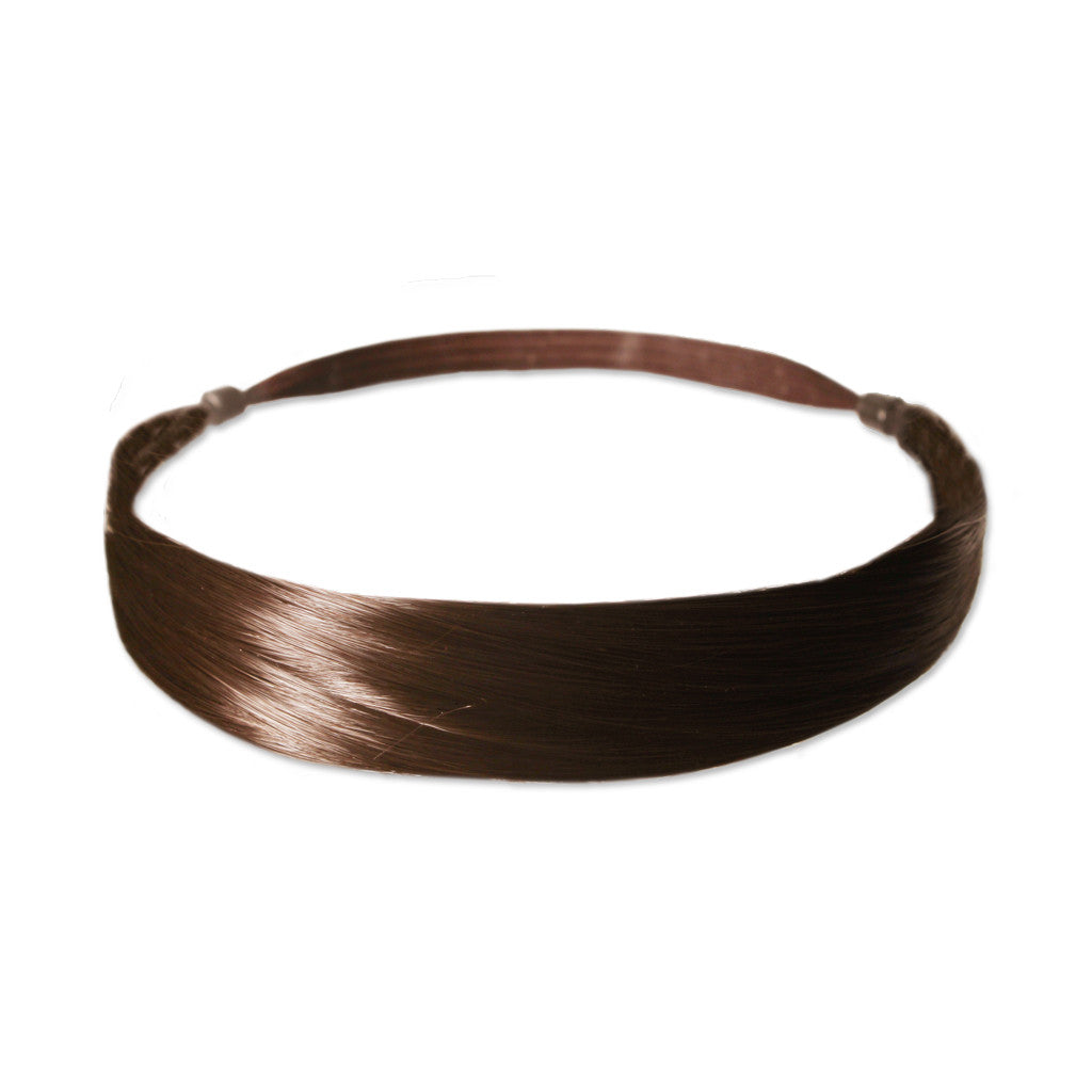 Mia® Tonyband® Headband, Straight Synthetic Wig Hair  - Light Brown Color - designed by #MiaKaminski of #MiaBeauty #Mia #Beauty #HairAccessories #Headbands #SyntheticWigHair #SyntheticHairHeadbands