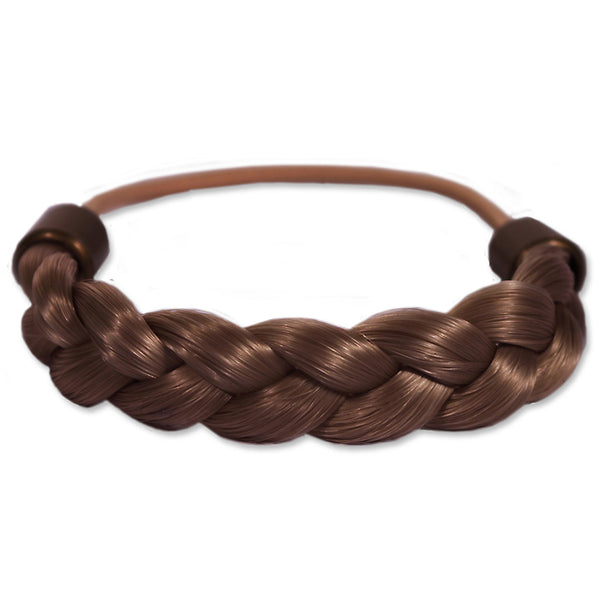 Braided Tonytail® - Light Brown