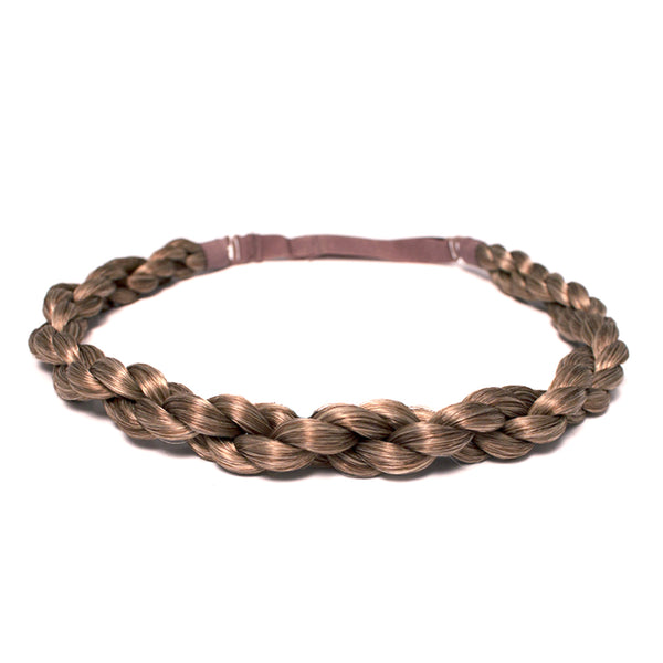 Rope Braidie Headband - Light Brown