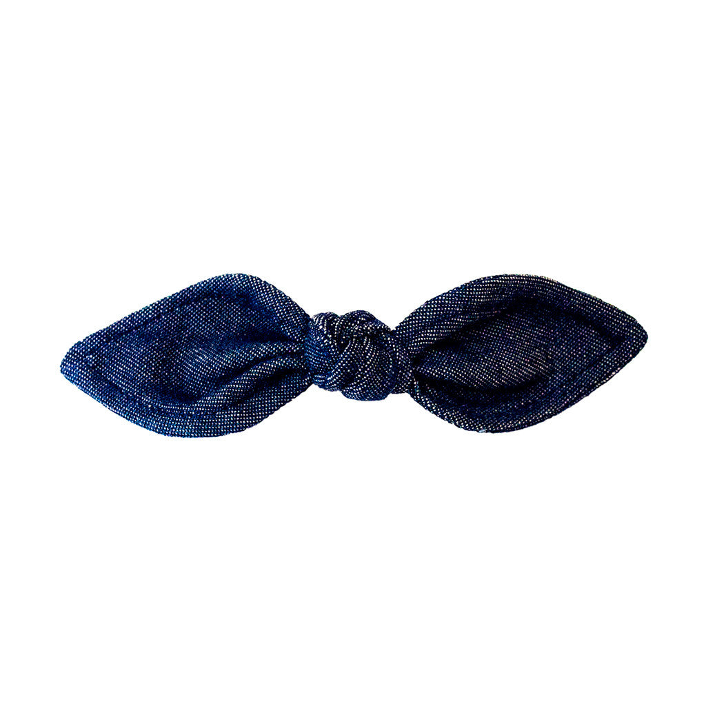 Bow Barrette - Denim Bow - MIA® Beauty