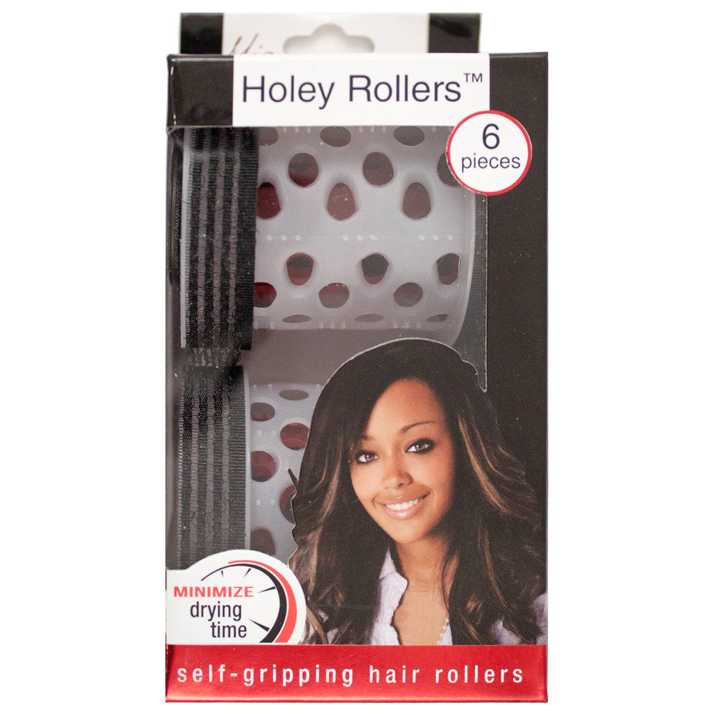 Mia® Holey Rollers™ - 6 pieces out of packaging - by  #MiaKaminski #Mia #MiaBeauty #beauty #hair #hairstylingtools #rollers #curlers #lovethis #love #life #woman #selfgriprollers