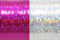 Bling String® - Hologram Silver + Pink