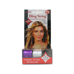 Bling String® - Hologram Purple + Silver