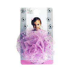 Mia® Baby Sparkly Tulle Rosette Flower Barrette - light pink color - by #MiaKaminski #Mia #MiaBeauty #beauty #hair #HairAccessories #baby #girlhairaccessories #hairclips #hairbarrettes #barrette #lovethis #love #life #woman