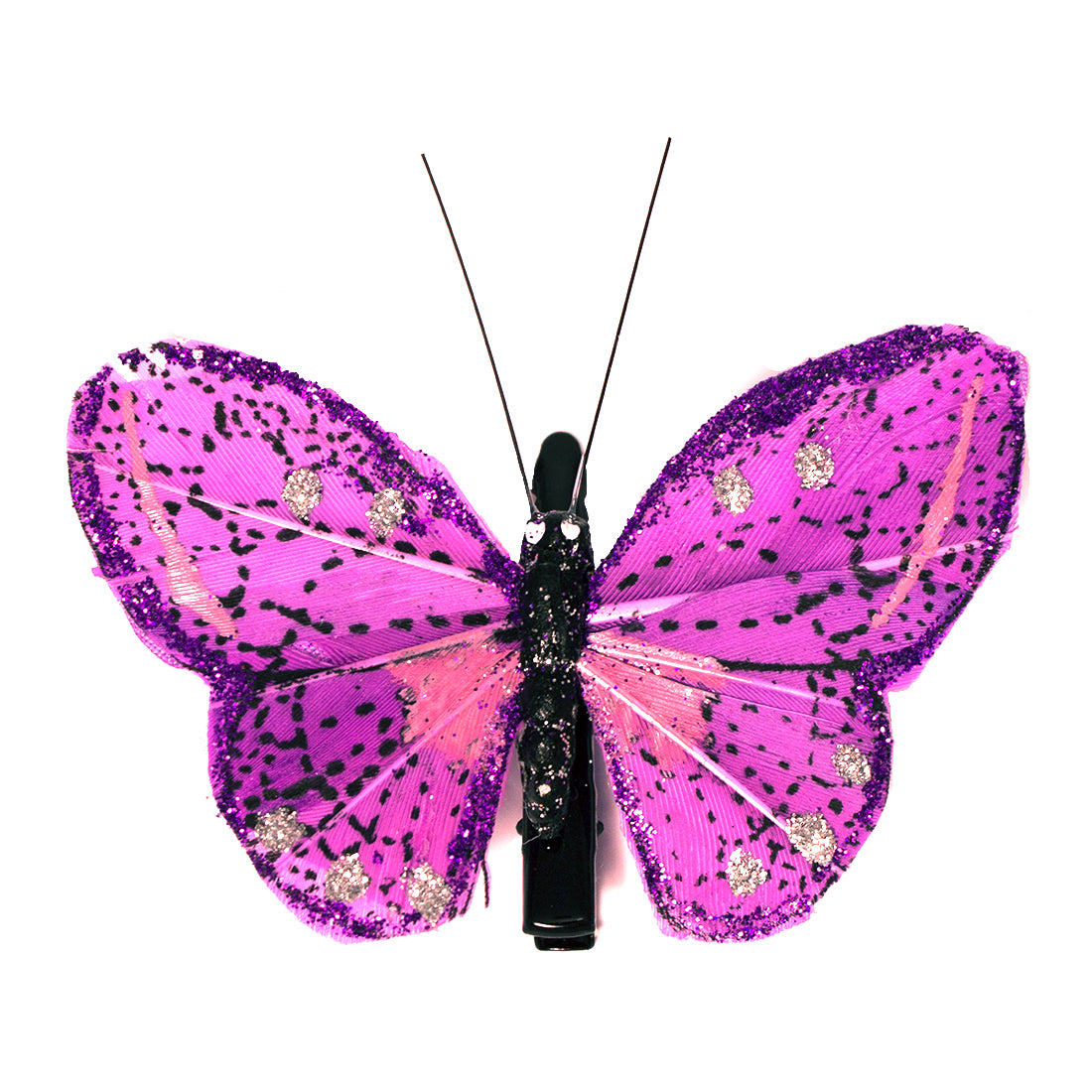 Mia® Butterfly Barrette  - purple color - 1 piece - designed by #Mia Kaminski of Mia Beauty