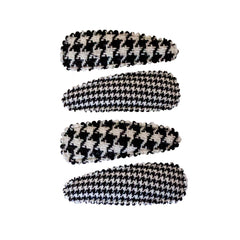 Snip-Snaps® - Black/White Houndstooth - MIA® Beauty