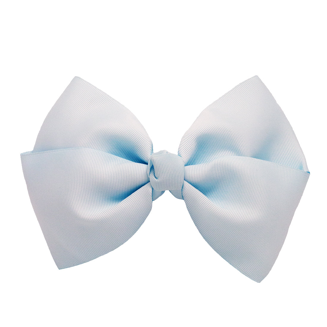 Mia Spirit Extra Large Grosgrain Bow Barrette - light blue color - designed by #MiaKaminski of Mia Beauty