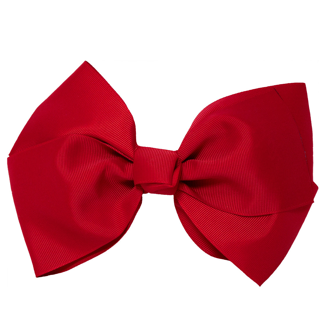 Mia Spirit Extra Large Grosgrain Bow Barrette - maroon red color - designed by #MiaKaminski of Mia Beauty