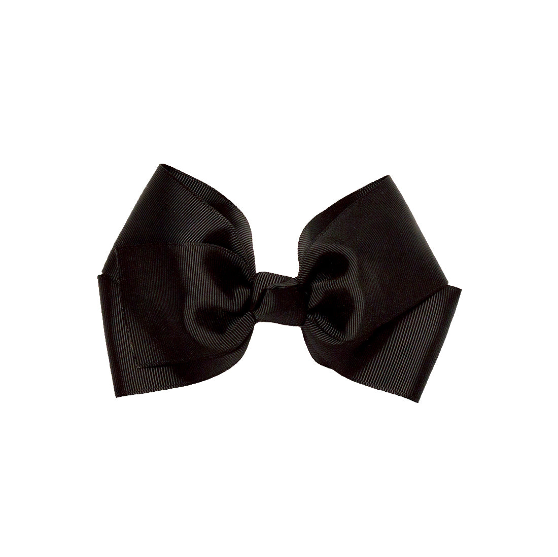 Mia® Spirit Grosgrain Ribbon Bow Barrette - large size - black color - designed by #MiaKaminski of Mia Beauty