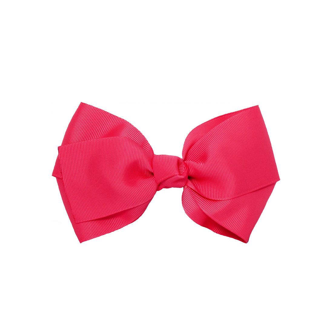 Mia® Spirit Grosgrain Ribbon Bow Barrette - large size - hot pink color - designed by #MiaKaminski of Mia Beauty