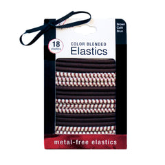 Mia® Color Blended Elastics - brown color on packaging - #MiaKaminski of Mia Beauty