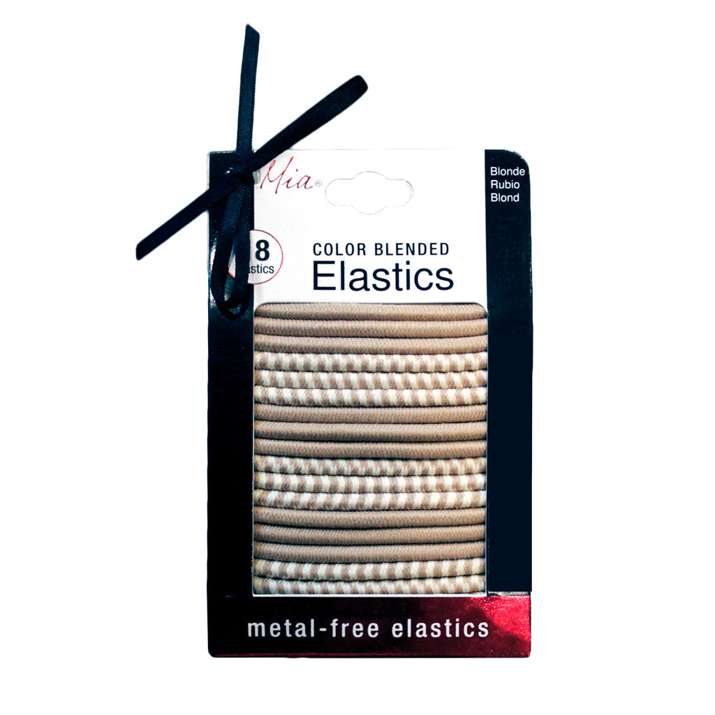 Mia® Color Blended Elastics - Blonde color on packaging - #MiaKaminski of Mia Beauty