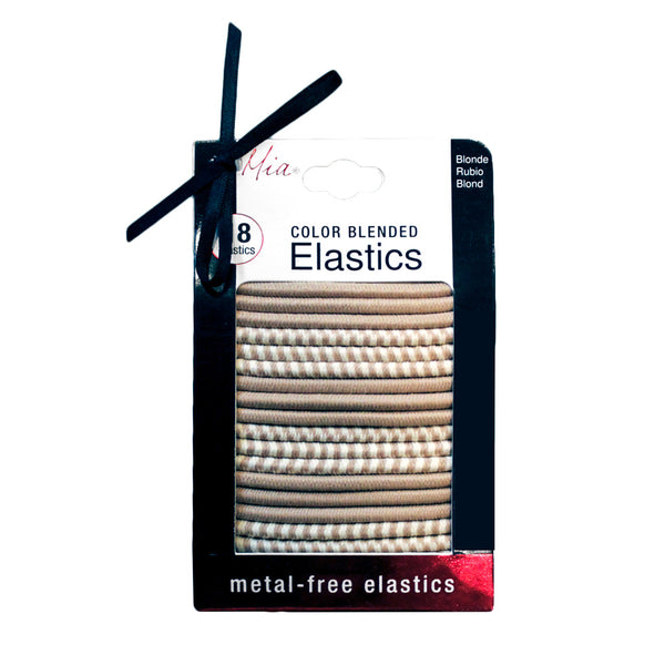 Color Blended Metal-Free Elastics - Blonde 18pcs