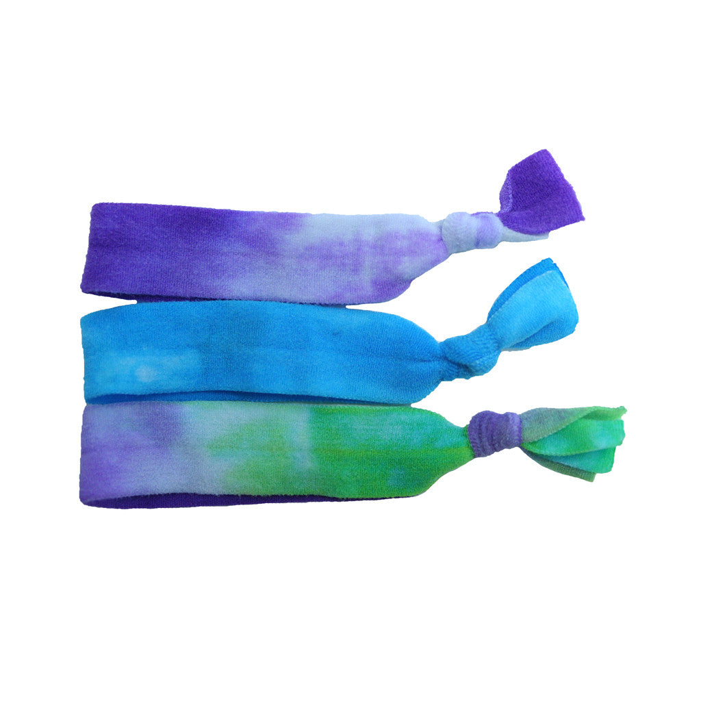 Tony Ties® Neon - Purple, Blue, Green Tie-Dye - MIA® Beauty
