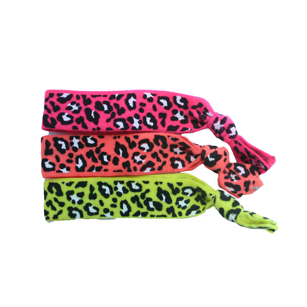 Tony Ties® Neon - Pink, Orange, Yellow Leopard - MIA® Beauty