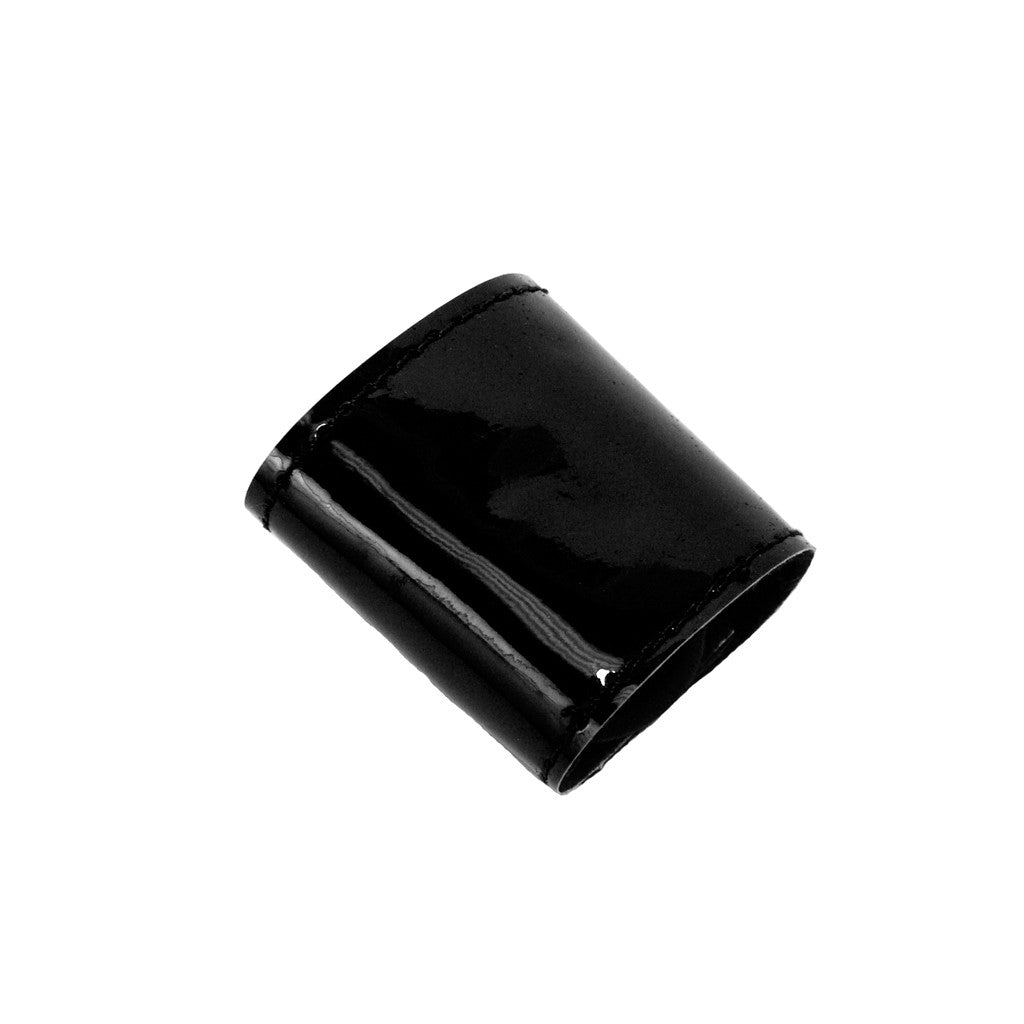 Mia®Tony Pony® - Patent leather ponytail cuff - black - designed by #MiaKaminski CEO of Mia® Beauty