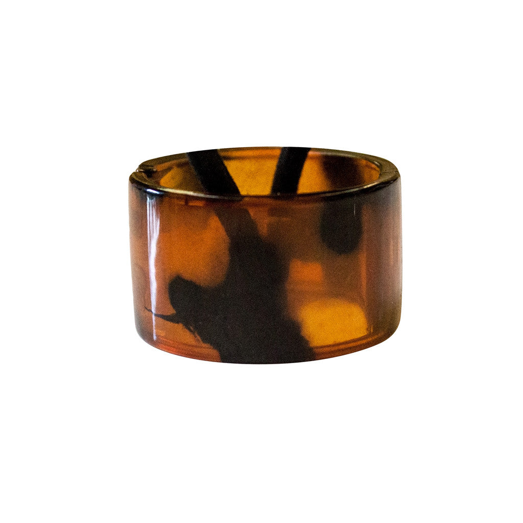 Mia® Tony Pony - acrylic ponytail cuff - tortoise - designed by #MiaKaminski of Mia Beauty