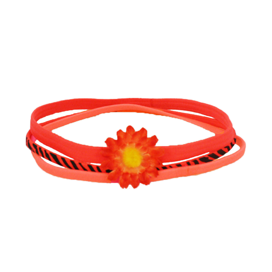 Bra Strap Headband - Orange, Zebra, Flower