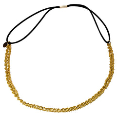Mia® Metal Chain Headband - Gold Chain - Mia® Beauty
