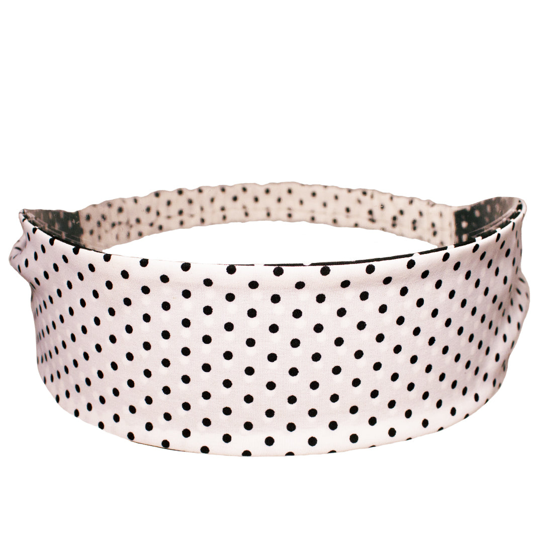 Mia® Reversible Headband - black and white - #MiaKaminski #Mia #MiaBeauty #Beauty #Hair #HairAccessories #headbands #silkheadband #lovethis #love #life #woman