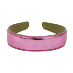 Mia®  Metallic Leather Headband - pink - #MiaKaminski #Mia #MiaBeauty #Beauty #Hair #HairAccessories #headbands #headwraps #lovethis #love #life #woman #leather #metallic