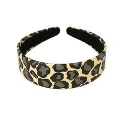 Leopard Print Headband - Mia Beauty - 1