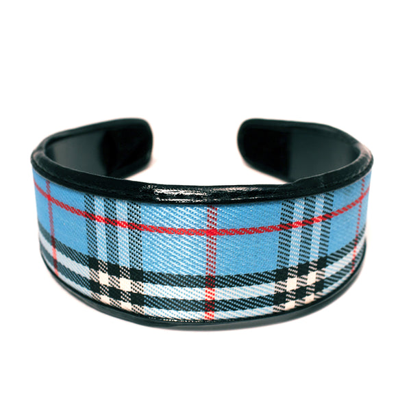 Plaid Wide Headband
