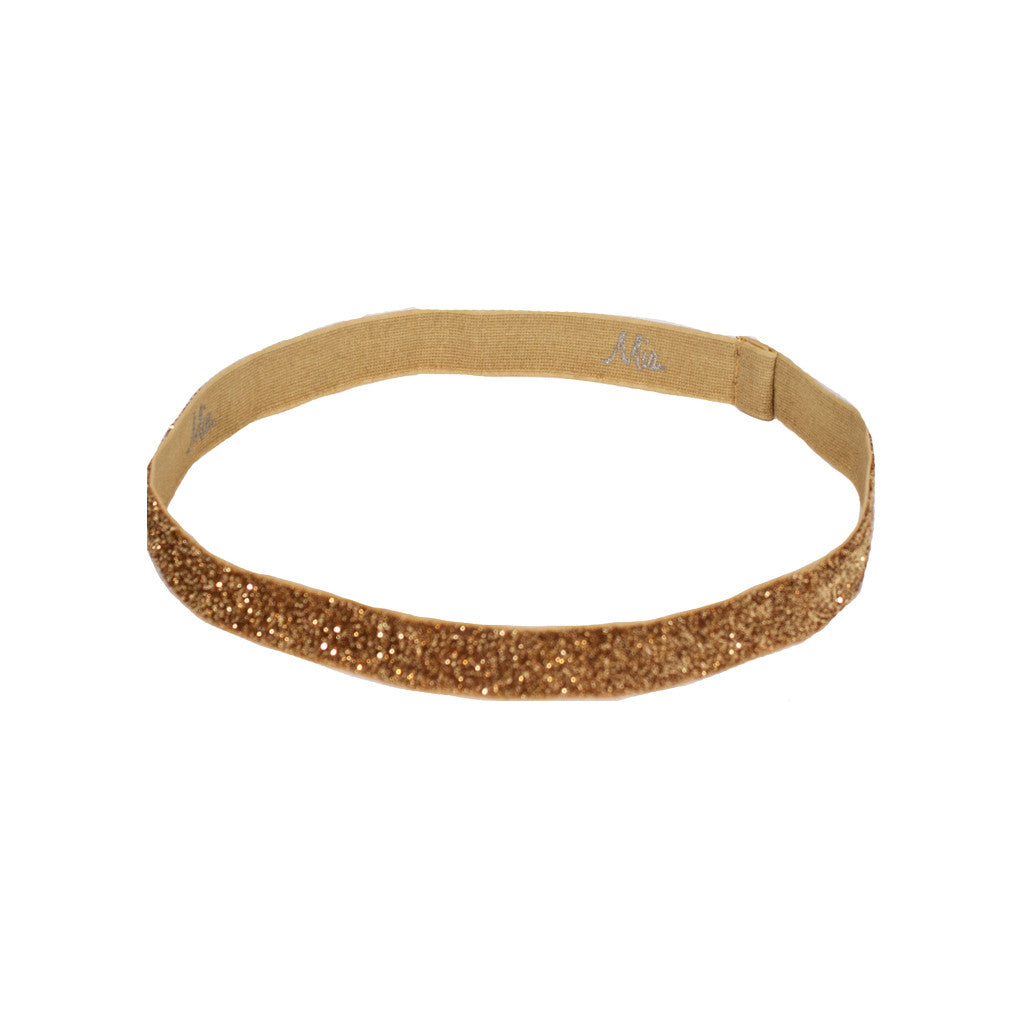 Mia® Tony Bands® - Glitter Headband -  gold color - #MiaKaminski #Mia #MiaBeauty #Beauty #Hair #HairAccessories #headbands #headwraps #lovethis #love #life #woman