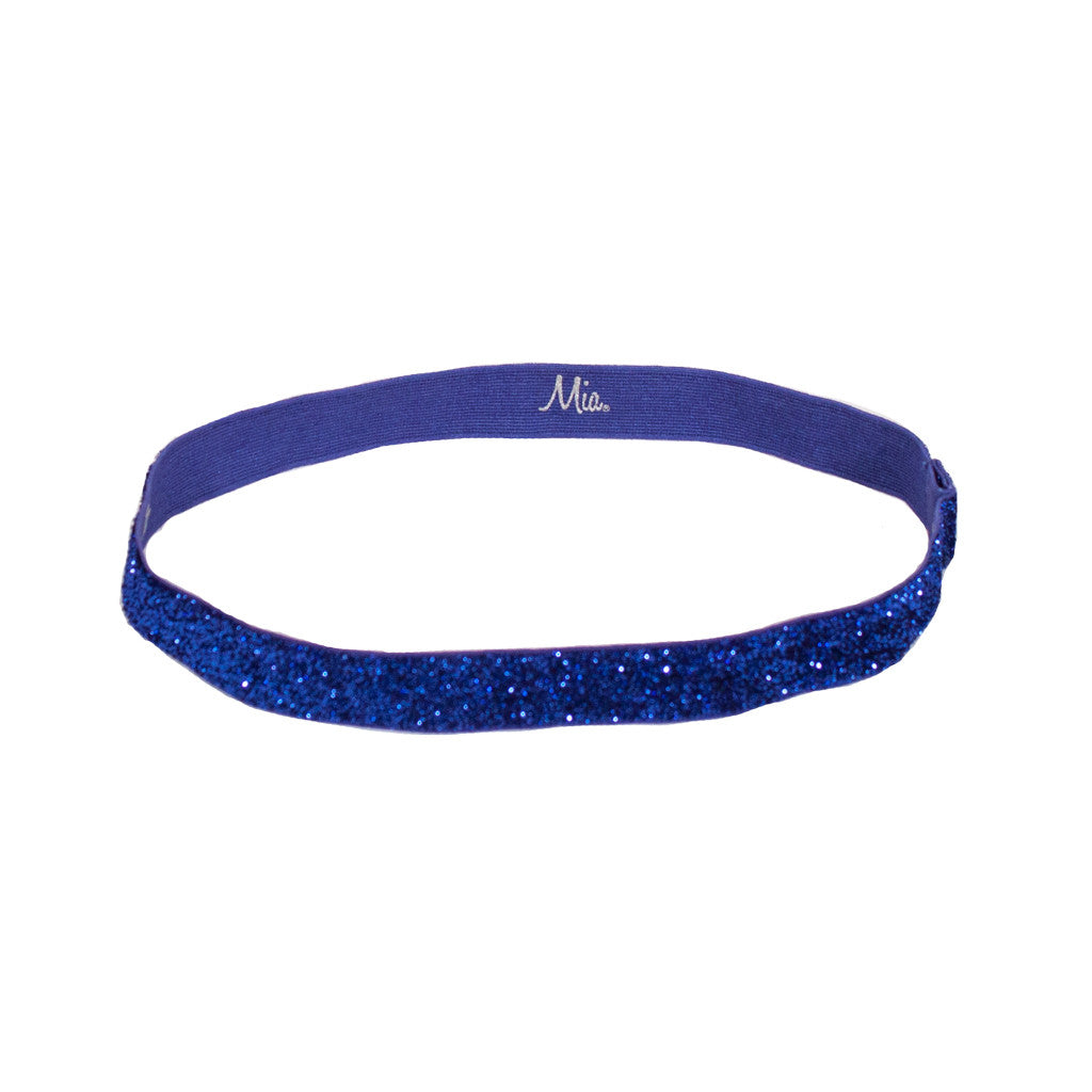 Mia® Tony Bands® - Glitter Headband -  royal blue color - #MiaKaminski #Mia #MiaBeauty #Beauty #Hair #HairAccessories #headbands #headwraps #lovethis #love #life #woman