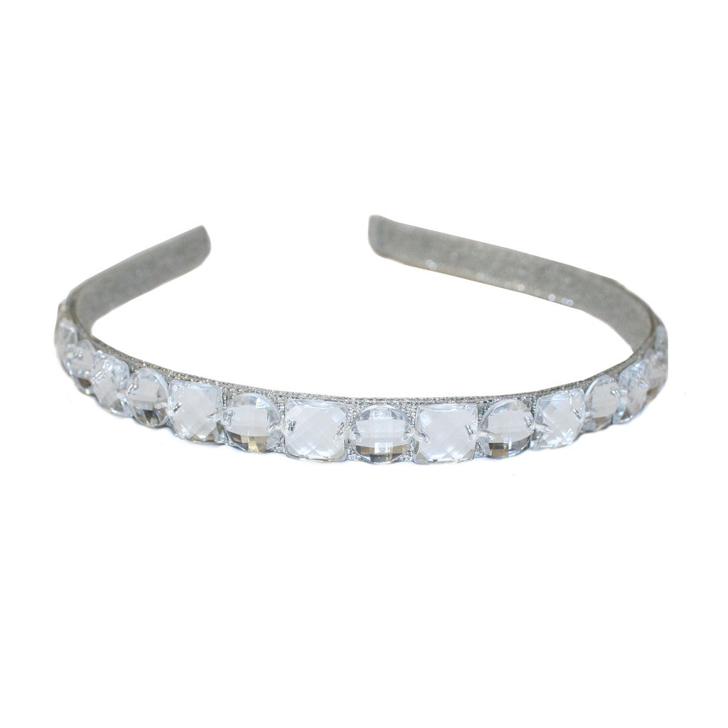 Mia® Rhinestone Headband Silver Color - #MiaKaminski #Mia #MiaBeauty #Beauty #Hair #HairAccessories #headbands #headwraps #lovethis #love #life #woman