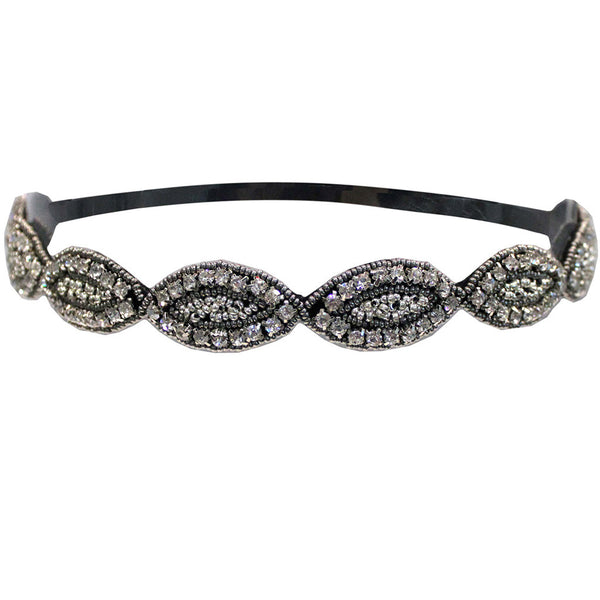 Embellished Headband - Marquis Shape
