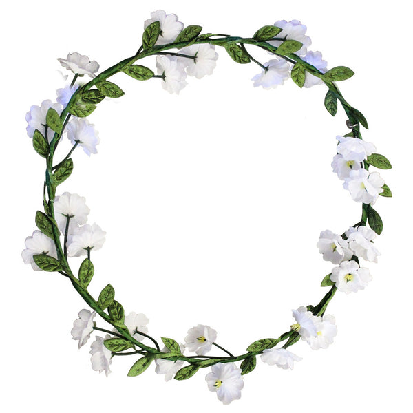 Flower Halo - White Flowers
