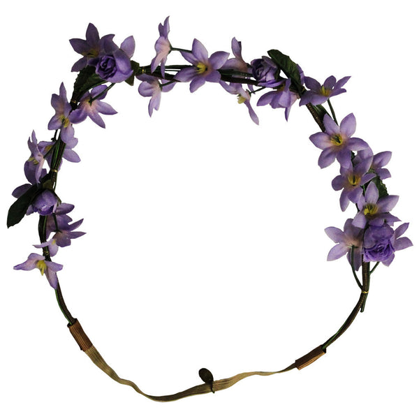 Flower Halo - Purple Flowers