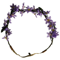 Flower Halos - Purple Flowers - Mia Beauty - 1