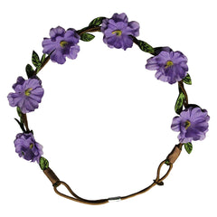 Flower Halos - Purple Flowers - Mia Beauty - 2