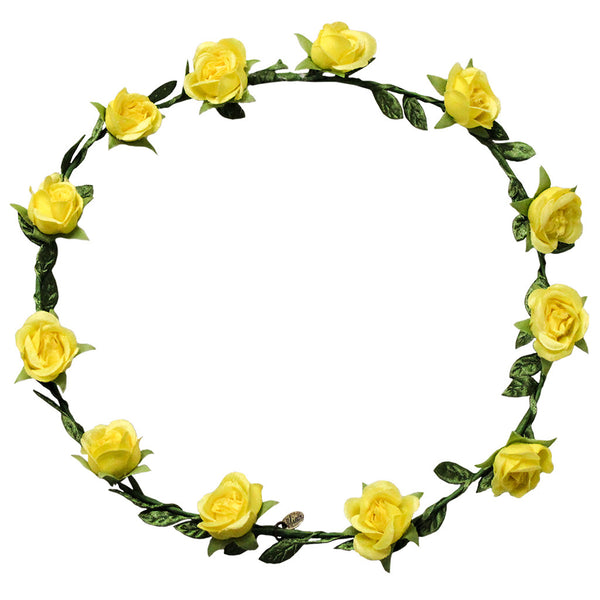 Flower Halos - Yellow Roses