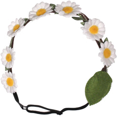 Mia® Flashion Flowers™ Light Up Headband - white daisies with white lights - by #MiaKaminski #Mia #MiaBeauty #Beauty #Hair #HairAccessories #headbands #lovethis #love #life #woman #flowerhalo #LEDlightedheadband #festivals #coachella #AsSeenOnTV
