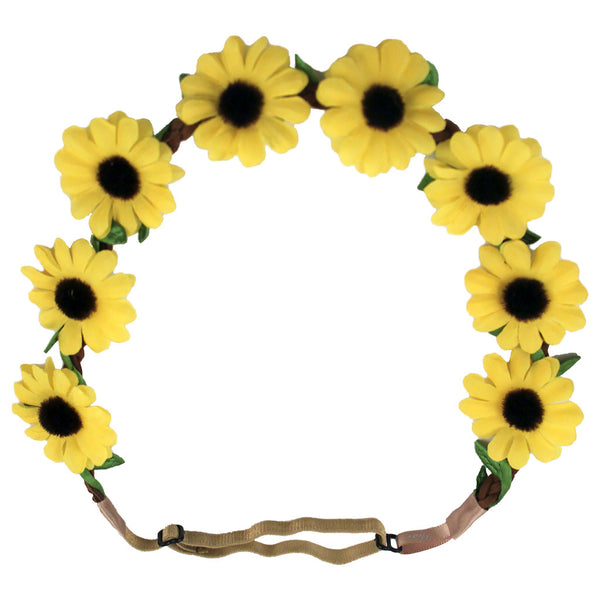 Flower Halo - Large Yellow Daisies