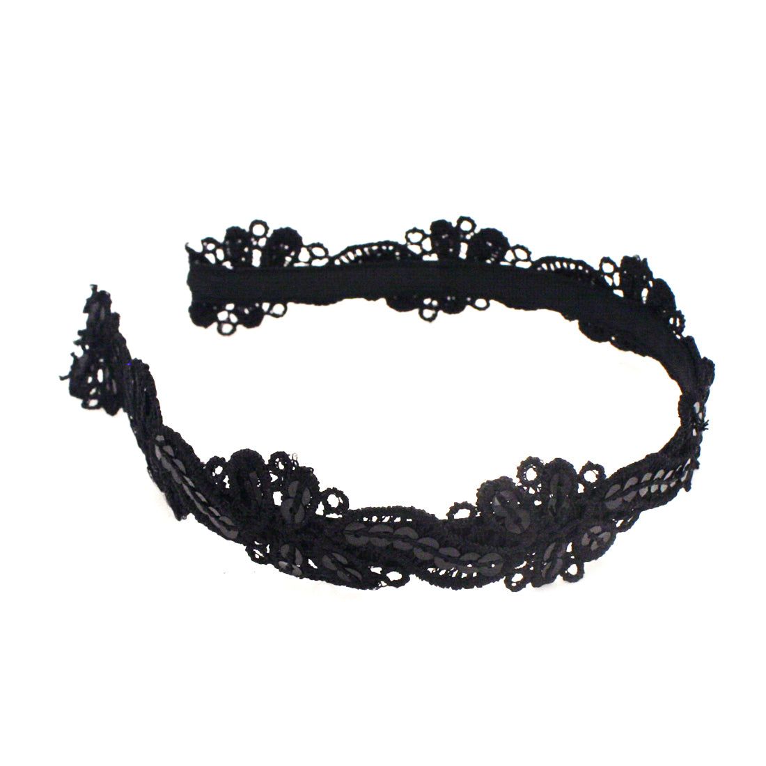 Mia® Lace + Sequins Headband - black - #MiaKaminski #Mia #MiaBeauty #Beauty #Hair #HairAccessories #headbands #suedeheadband #lovethis #love #life #woman