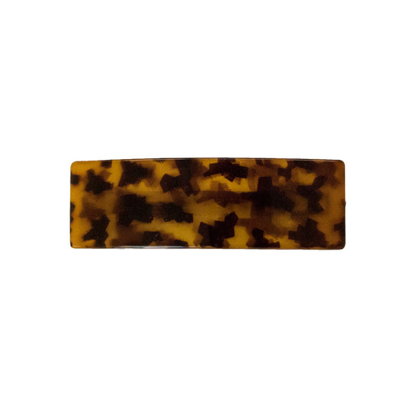 Rectangle Barrette - Tortoise