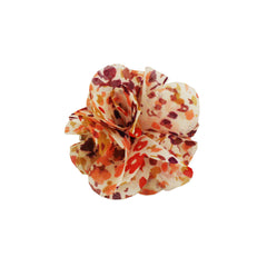 Small Flower Clip and Pin - Pink Flower Print - Mia Beauty