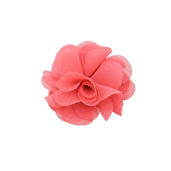 Flower Clip and Pin - Pink
