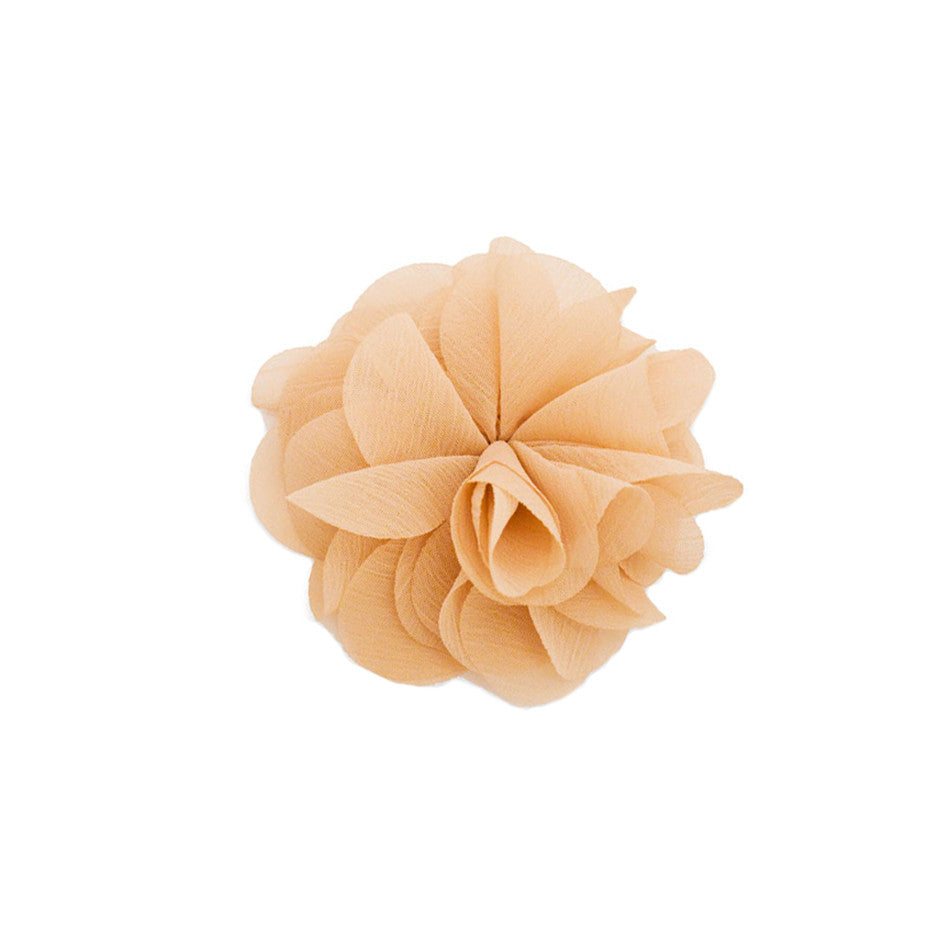Mia® Flower Clip/Pin - Beige color - #MiaKaminski #Mia #MiaBeauty #Beauty #Hair #HairAccessories #barrettes #hairclips ##lovethis #love #life #flowers #hairflowers