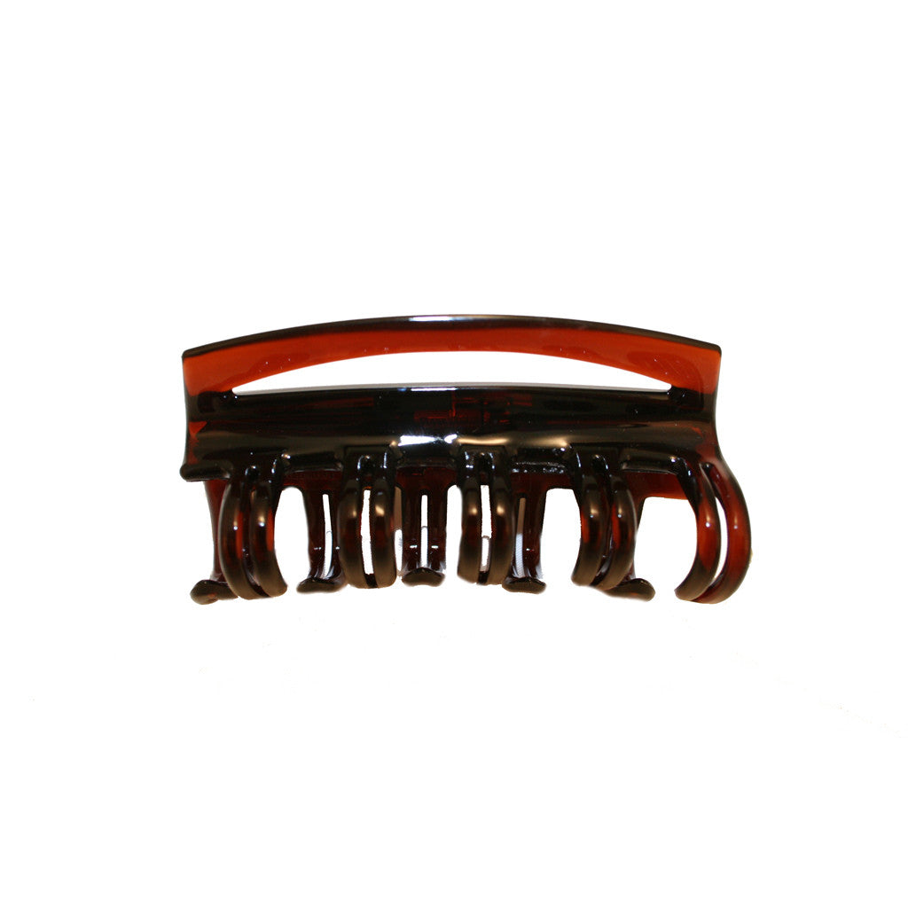 Tortoise Large Jaw Clamp w/ Hidden Spring Clamp - Mia Beauty