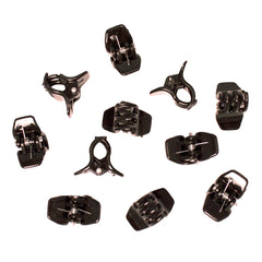 Mia® Clippies Small Jaw Clamp Clips  - black color - by #MiaKaminski of #MiaBeauty