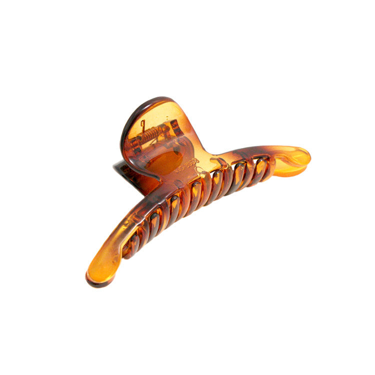 Mia® Slim Clip® jaw clamp - Tortoise - Mia Beauty - #MiaKaminski #Mia #MiaBeauty #Beauty #Hair #HairAccessories #barrettes #hairclips  #jawclampsforhair #lovethis #love #life #tortoise #woman
